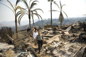 wild fires mansion home burnt_5-16-2014 San Diego