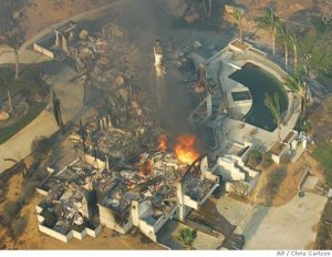 wild fires San Diego Cal_2-16-20`4 burnt building