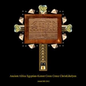 ChristLikelyen Ancient Africa Egypt-Kemet Cross