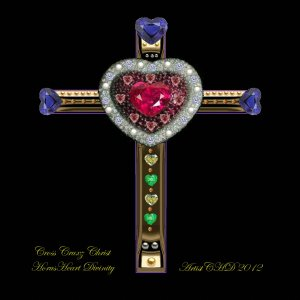 Cross Cruxz Christ Horusheart Divinity