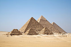 Pyramidss of Giza Ancient Africa Egypt Kemet