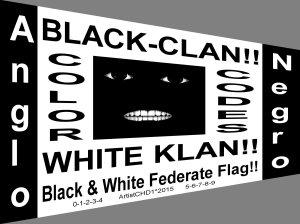 black white flag_perspective horizontal